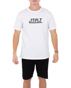 JETPILOT DIRECTION MENS TEE WHITE