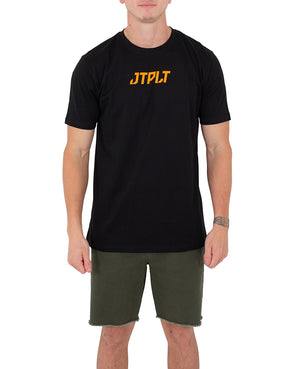 JETPILOT BACKHITS MENS TEE BLACK/ORANGE