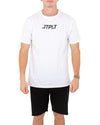JETPILOT BACKHITS MENS TEE WHITE