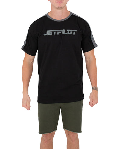 JETPILOT PAST MENS TEE BLACK