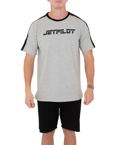 JETPILOT PAST MENS TEE GREY