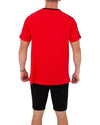 JETPILOT PAST MENS TEE RED