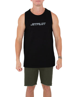 JETPILOT PAST MENS TANK BLACK