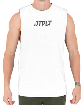 JETPILOT BACK HITS MENS MUSCLE WHITE