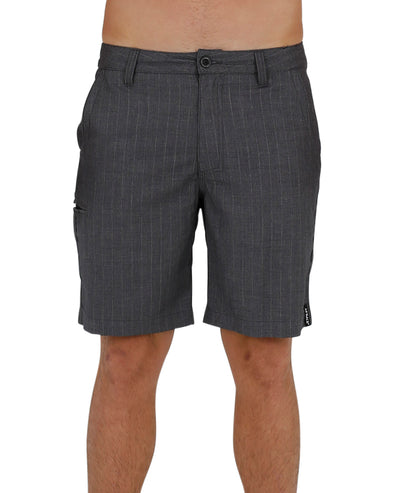 JETPILOT PINSTRIPE MENS WALKSHORT GREY