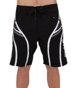 JETPILOT SCALP MENS BOARDSHORT BLACK/WHITE