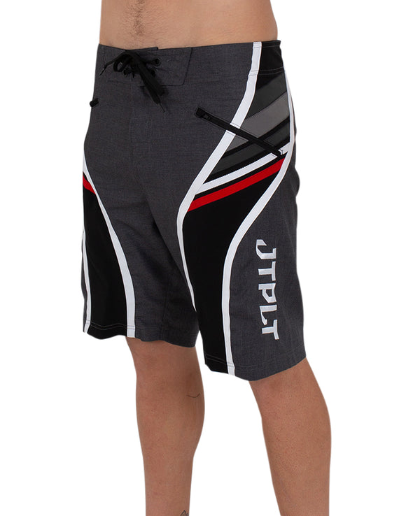 JETPILOT SCALP MENS BOARDSHORT CHAR/RED