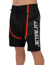 JETPILOT FULLPRO MENS BOARDSHORT BLACK/RED