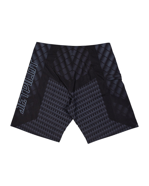 JETPILOT CARBON MENS BOARDSHORT BLACK