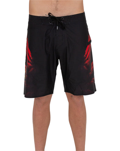 JETPILOT FLY MENS BOARDSHORT BLACK/RED