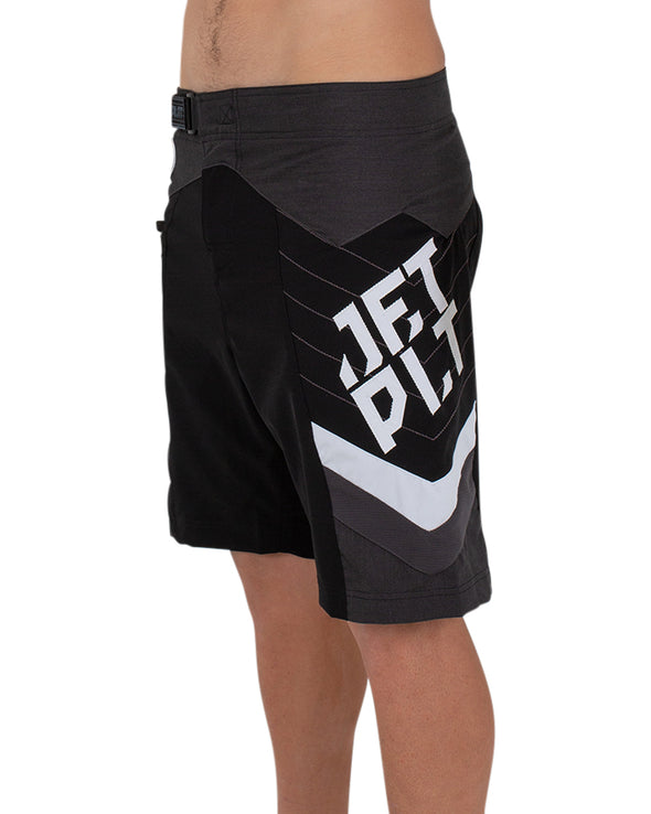 JETPILOT ORBITAL MENS BOARDSHORT BLACK/WHITE