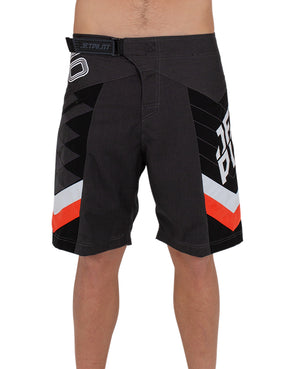 JETPILOT ORBITAL MENS BOARDSHORT BLACK/ORANGE