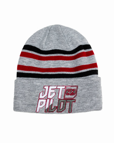 JETPILOT TEAM SHOWTIME YOUTH BEANIE GREY