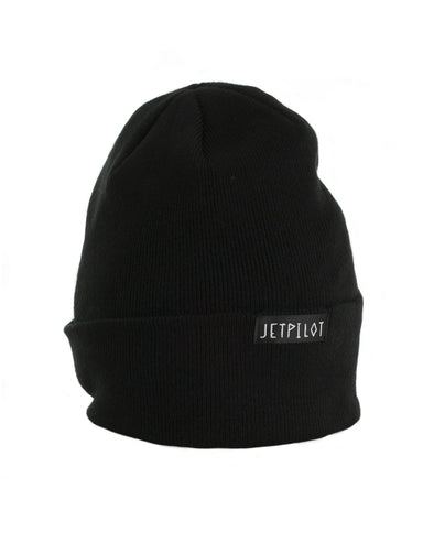 JETPILOT SWITCH UP MENS SLOUCH BEANIE BLACK