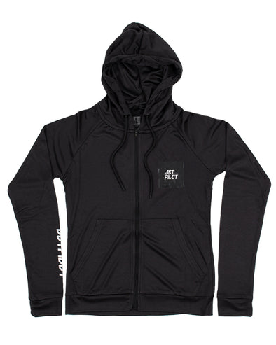 JETPILOT STAPLE LADIES FLEECE BLACK
