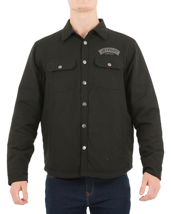 JETPILOT BATTLE MENS JACKET BLACK