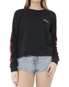 JETPILOT TRACK LADIES L/S TEE BLACK