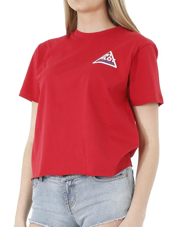 JETPILOT RACER LADIES BF TEE RED