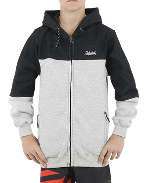 JETPILOT ADDICT YOUTH HOODIE CHAR/BLACK