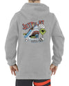 JETPILOT FISH FOOD YOUTH HOODIE GREY