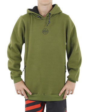 JETPILOT SHOWTIME YOUTH HOODIE MILITARY