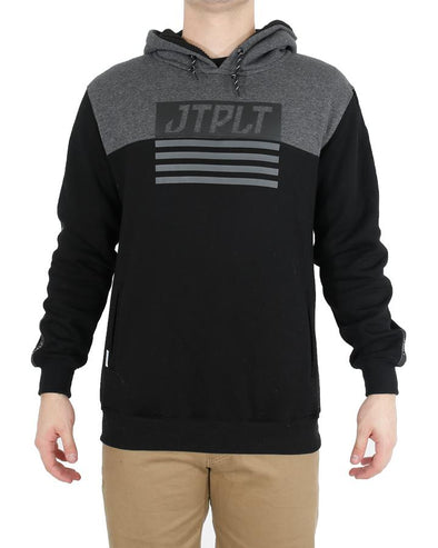 JETPILOT MATRIX MENS HOODIE BLACK/CHARCOAL