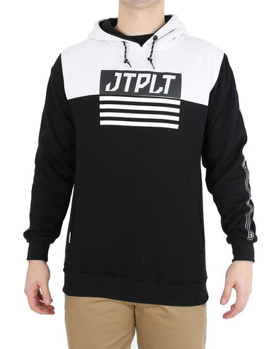 JETPILOT MATRIX MENS HOODIE BLACK/WHITE