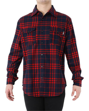 JETPILOT JACK MENS FLANNO RED