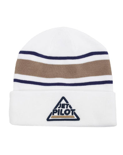 JETPILOT RACER LADIES BEANIE WHITE