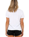 JETPILOT CORP LADIES S/S TEE WHITE