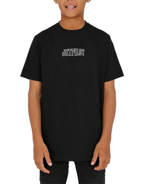 JETPILOT ROSE YOUTH TEE BLACK