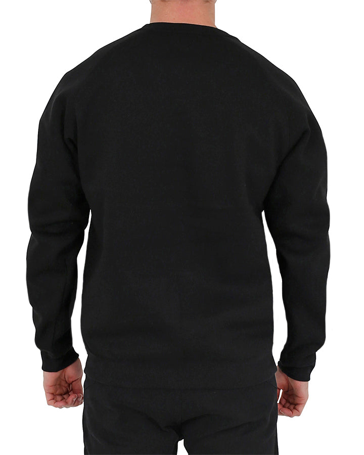 JETPILOT CAUSE MENS CREW BLACK