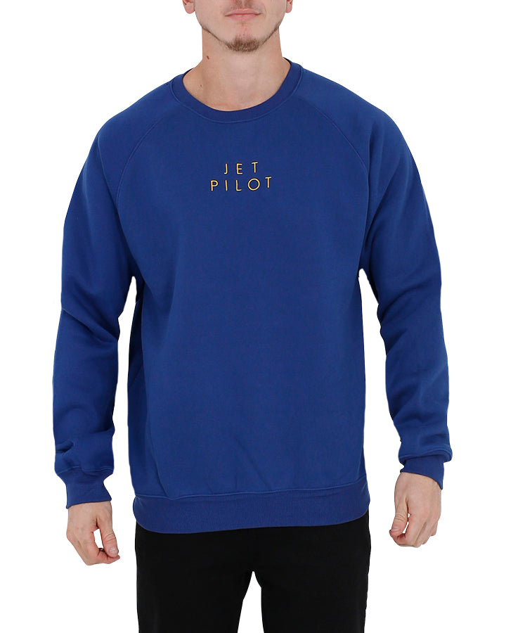 JETPILOT CAUSE MENS CREW BLUE