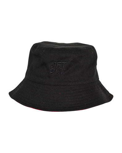 JETPILOT COUNTRY MENS BUCKET HAT BLACK