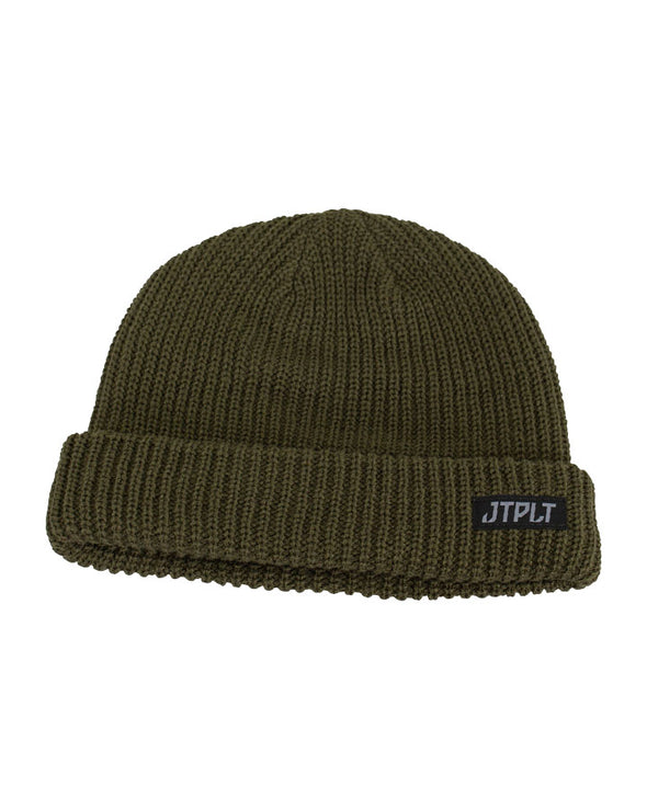 JETPILOT DIRECTION MENS BEANIE MILITARY
