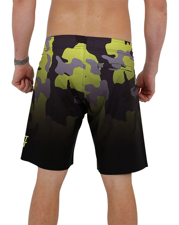 JETPILOT NUCLEAR MENS BOARDSHORT YELLOW/CAMO