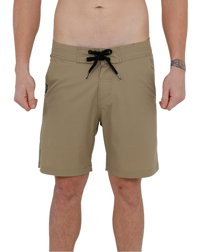 JETPILOT WORKED MENS BOARDSHORT KHAKI
