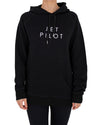 JETPILOT SIMPLE LADIES HOODIE BLACK