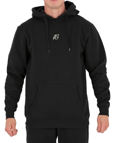 JETPILOT SEEKERS MENS PULLOVER HOODIE BLACK