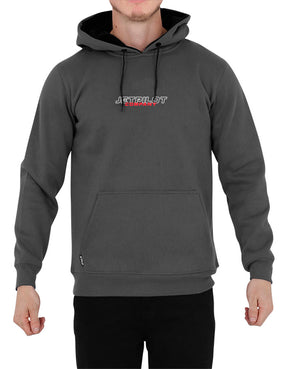 JETPILOT JP COMPANY MENS P/OVER HOODIE DARK CHARCOAL