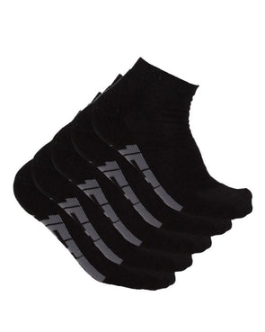 JETPILOT CORP MENS ANKLE SOCK BLACK