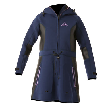 JETPILOT LADIES ALLURE 2MM LADIES TOUR COAT NAVY/PINK