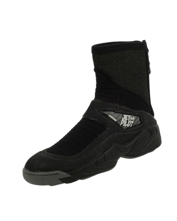 JETPILOT MENS TURBO REAR ZIP NEO BOOT BLACK/BLACK