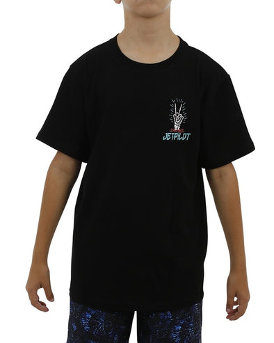 JETPILOT NUCLEAR YOUTH TEE BLACK