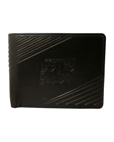 JETPILOT CLEAN CUT PU WALLET BLACK