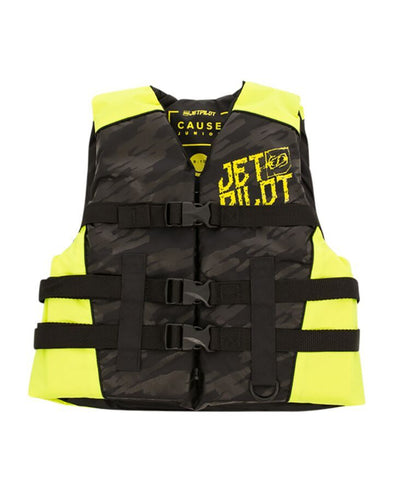JETPILOT YOUTH THE CAUSE F/E KIDS NYLON VEST BLACK