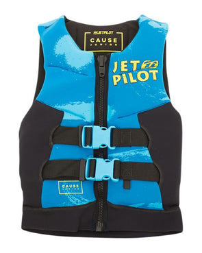 JETPILOT YOUTH THE CAUSE F/E KIDS NEO VEST BLUE