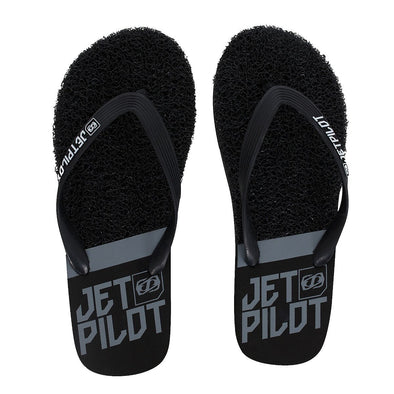 JETPILOT MIX UP MENS THONGS BLACK