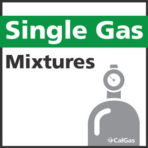 Single Calibration Gas Mixtures