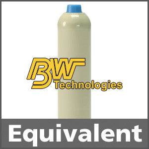 BW Technologies CG-ZERO Zero Air Calibration Gas - 20.9% vol. (O2) 103L